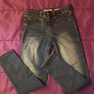 Kids Sonoma size 7 jeggings